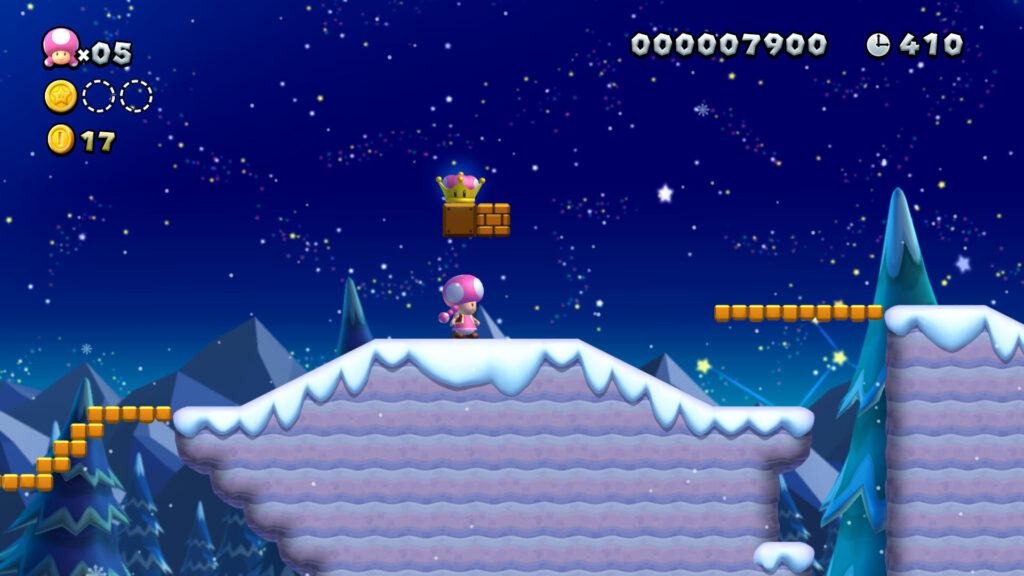 New Super Mario Bros U Deluxe - fizyka