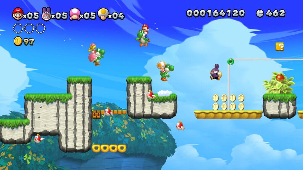 New Super Mario Bros U Deluxe - multiplayer